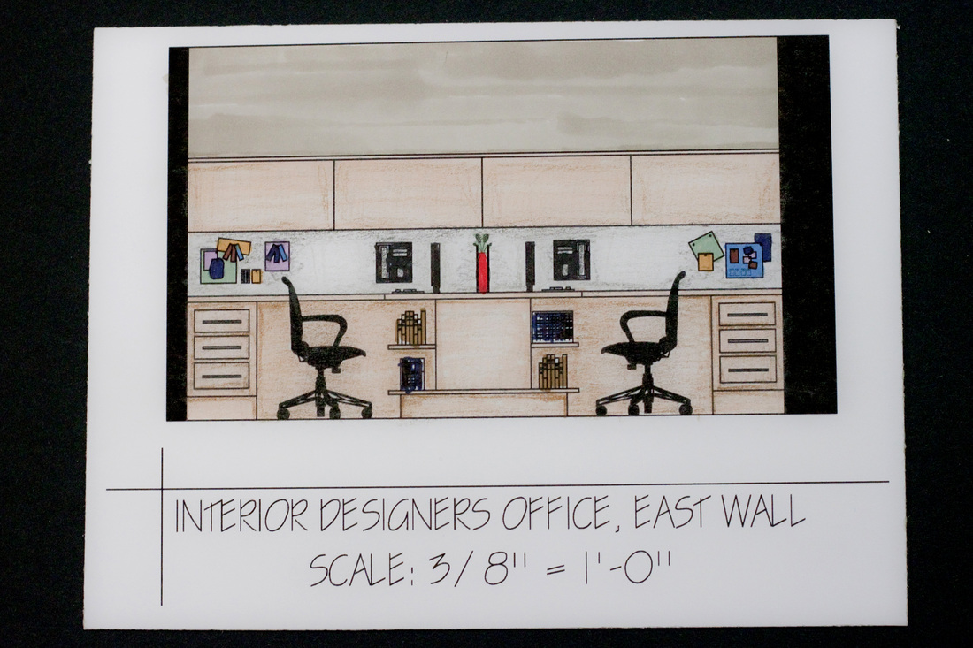 East Wall Of Interior Designers Office